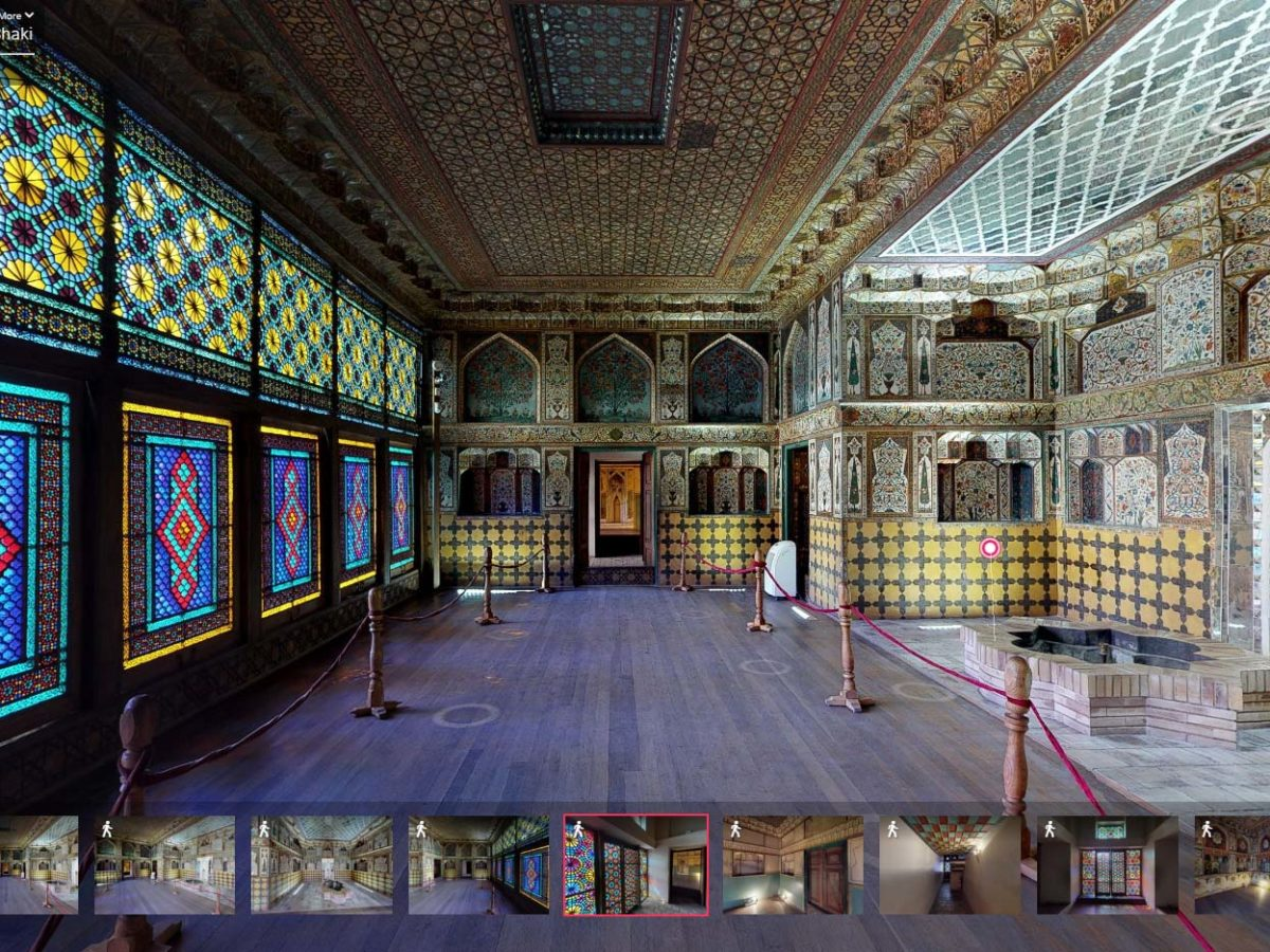 The Palace of Shaki Khans<br>Azerabaijan, Shaki
